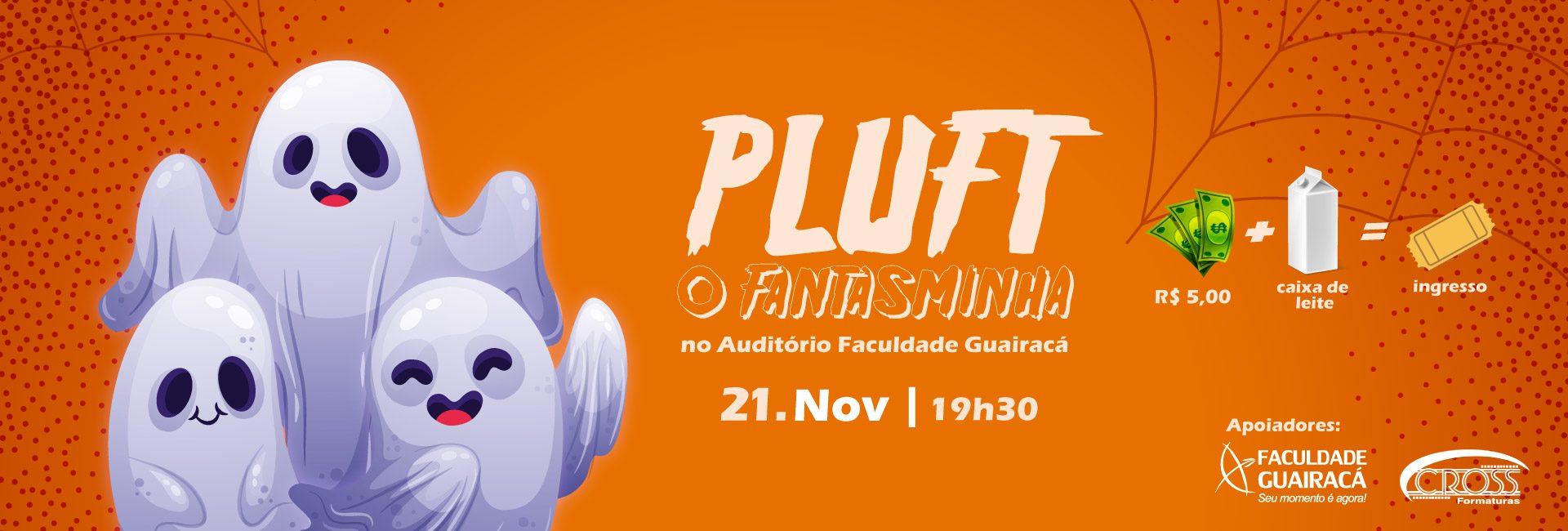 Peça teatral 'Pluft: o fantasminha'