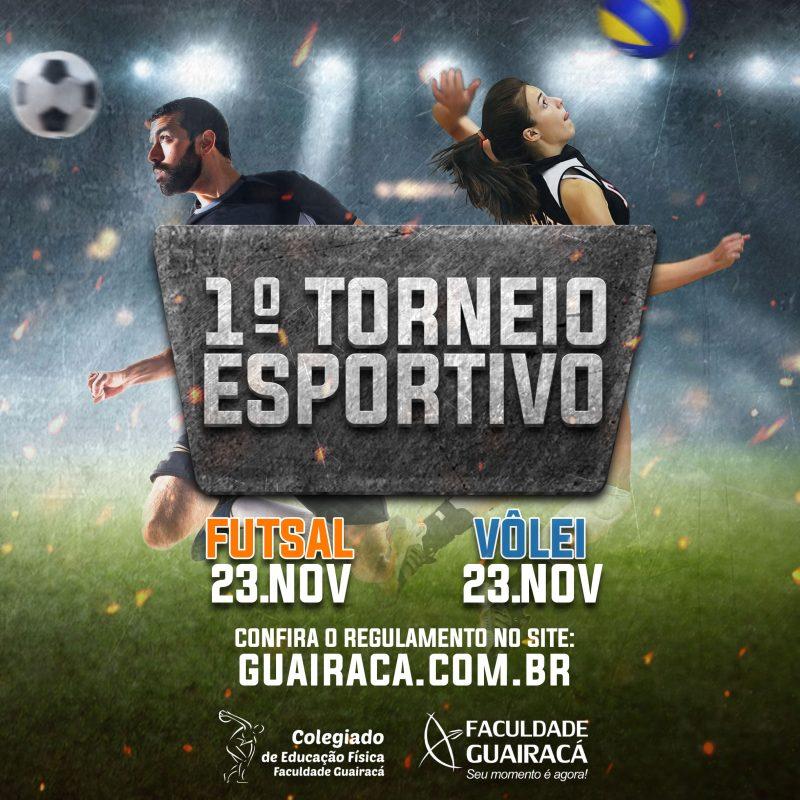 Educação Física da Guairacá promove 1° Torneio Esportivo de Futsal e Voleibol