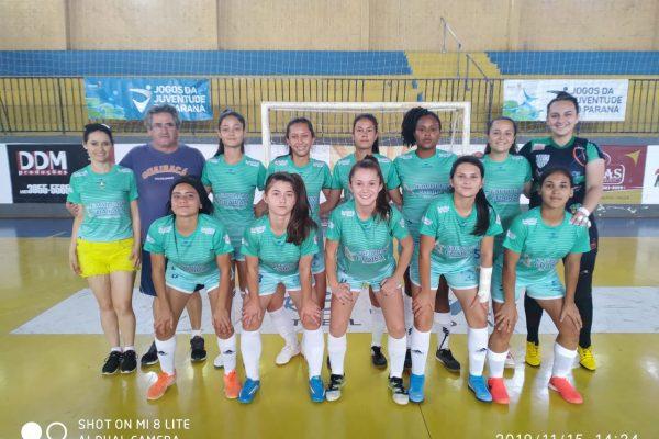 Jogos da Juventude: equipe de futsal da Guairacá fica entre as 4 melhores do Estado