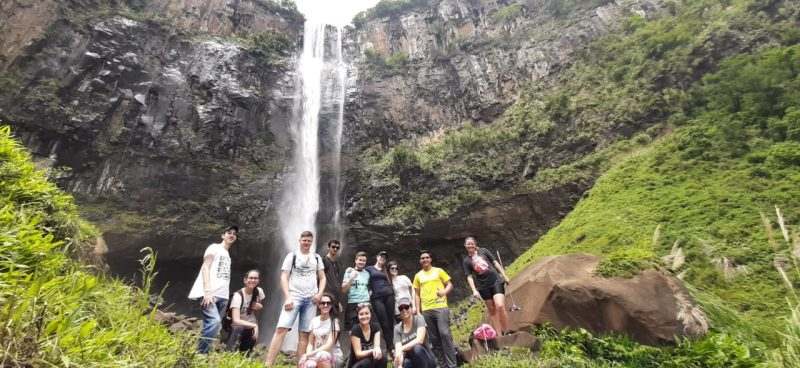 Saída de campo leva estudantes da Guairacá ao Parque São Francisco da Esperança