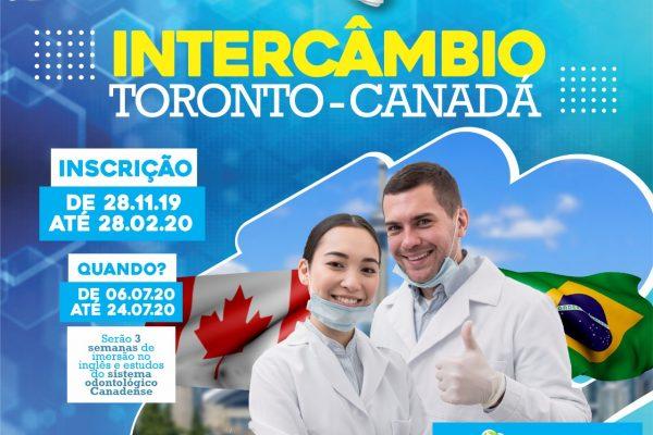 Guairacá abre inscrições para Programa de Intercâmbio de Odontologia para o Canadá