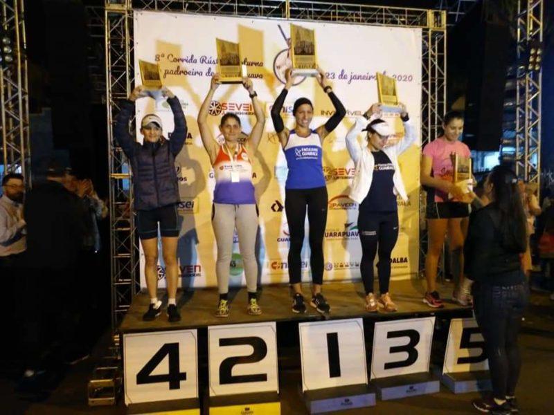 Atletas da Guairacá conquistam pódio na 8ª Corrida Rústica da Padroeira de Guarapuava