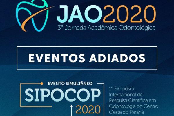Faculdade Guairacá adia Jornada Odontológica e Simpósio Internacional de Pesquisa