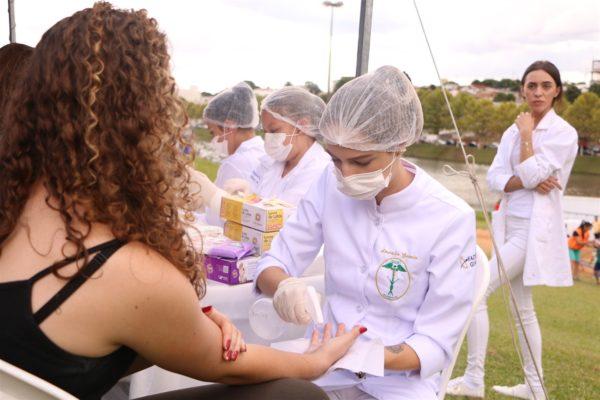 Guairacá oferta serviços de saúde no Parque do Lago em alusão ao Dia da Mulher