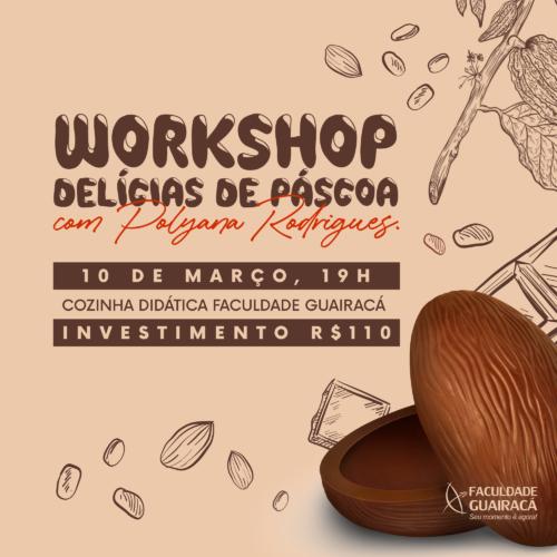 Gastronomia da Guairacá realiza workshop 'Delícias de Páscoa'