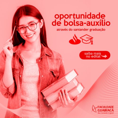 Por meio de parceria com o Santander, Guairacá oferece bolsa-auxílio para estudantes