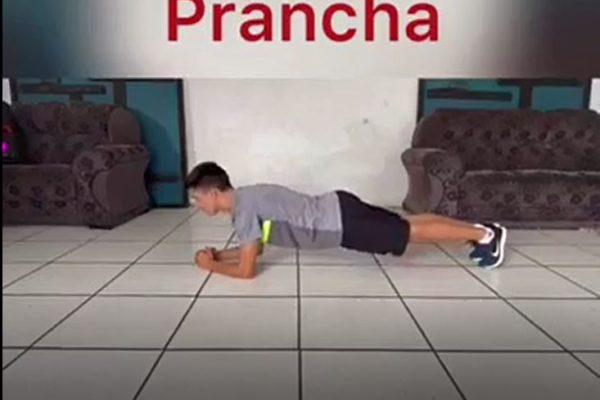 Educação Física da Guairacá dá dicas de treinos que podem ser realizados em casa