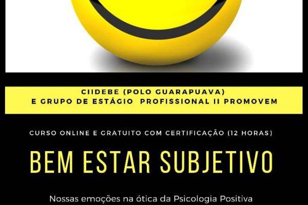 UniGuairacá promove curso online sobre emoções e a psicologia