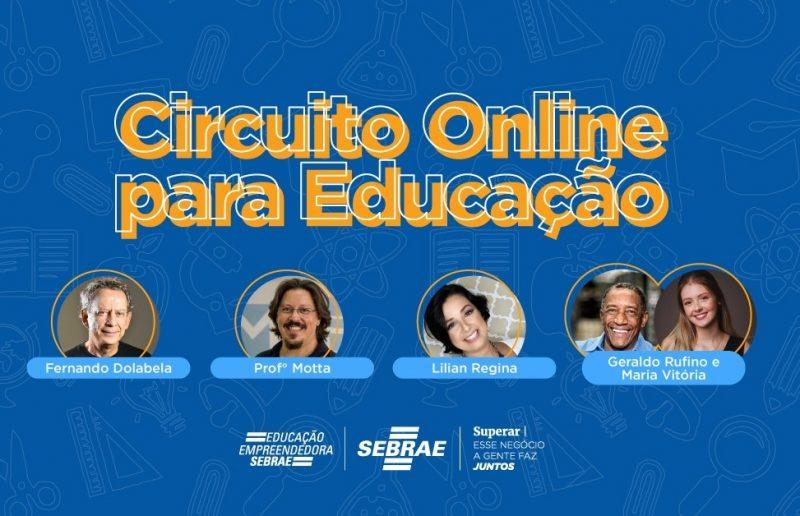 Participe do 'Circuito online para educação'