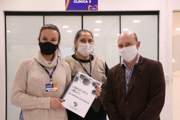 Professores de Odontologia da UniGuairacá participam da elaboração de material da Abeno