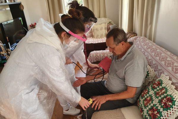 UniGuairacá oferece atendimento domiciliar em saúde durante pandemia