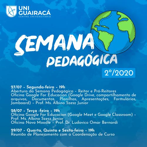 UniGuairacá Centro Universitário prepara sua Semana Pedagógica