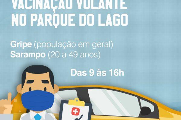 Secretaria de Saúde e UniGuairacá realizam campanha de vacinação contra gripe e sarampo