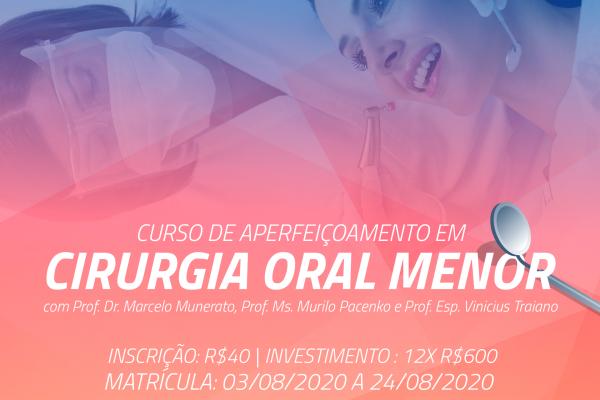 Abertas as inscrições para curso de aperfeiçoamento em cirurgia oral menor na UniGuairacá