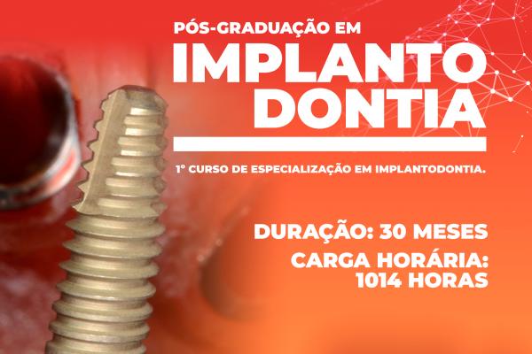 UniGuairacá lança especialização inédita em implantodontia