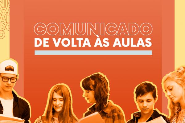 Comunicado: retorno das atividades no segundo semestre