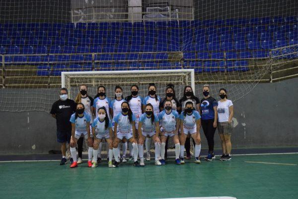 Futsal feminino da UniGuairacá tem jogo de estreia no Campeonato Paranaense