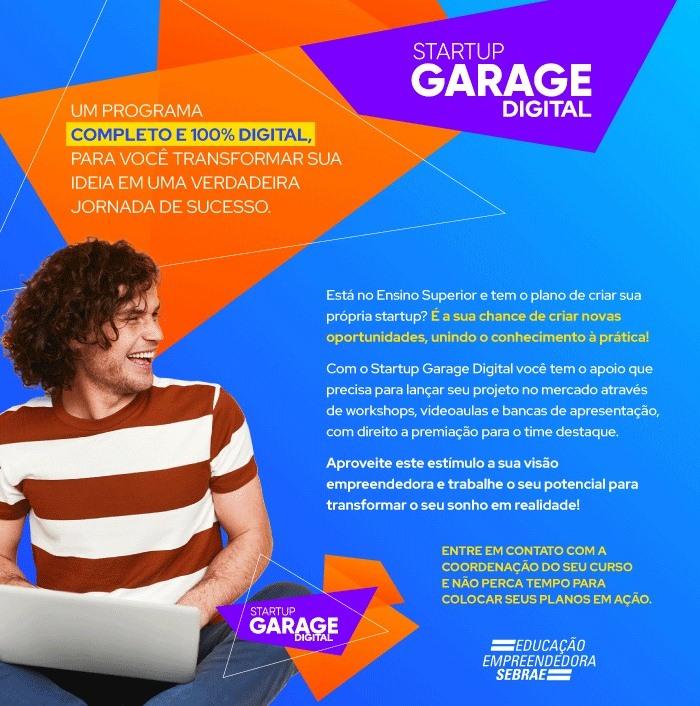 Abertas as inscrições para o Startup Garage deste ano