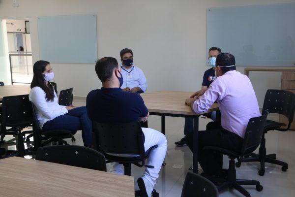 PoliClínica Guairacá recebe o presidente do Conselho Regional de Odontologia