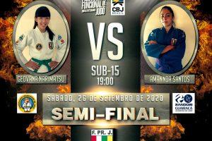 Judocas da Randori/UniGuairacá participam da semifinal do Campeonato Paranaense