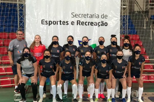 Futsal feminino da UniGuairacá irá representar o Estado na Copa Brasil