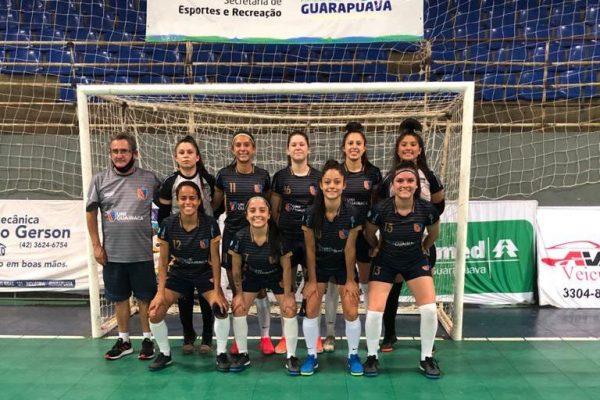 Futsal feminino da UniGuairacá conquista classificação para segunda fase da Copa Brasil