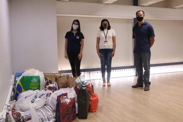 Solidariedade: UniGuairacá entrega materiais arrecadados para a Associação Canaã