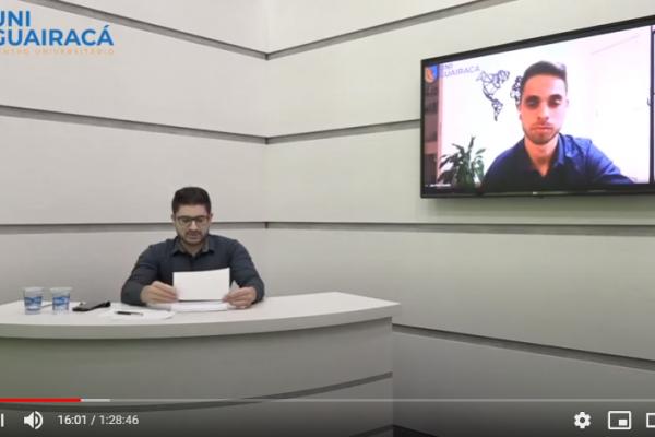 Novembro Azul: UniGuairacá recebe o Dr. João Paulo Franzoni para live