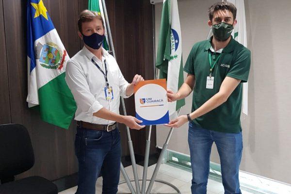 UniGuairacá e ACIG firmam parceria visando o desenvolvimento local