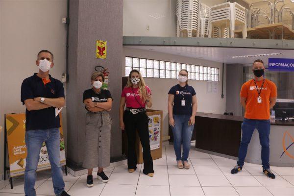 Seguindo protocolos de segurança, UniGuairacá dá início ao semestre letivo