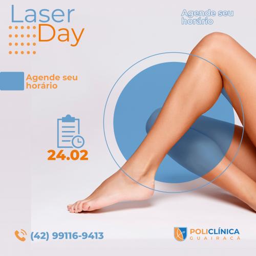 Saúde e bem-estar: PoliClínica Guairacá realiza Laser Day